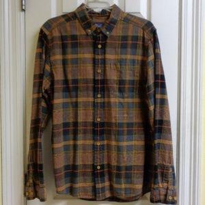 Patagonia 100% Organic Cotton Flannel Shirt